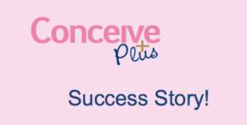 conceived with conceive plus