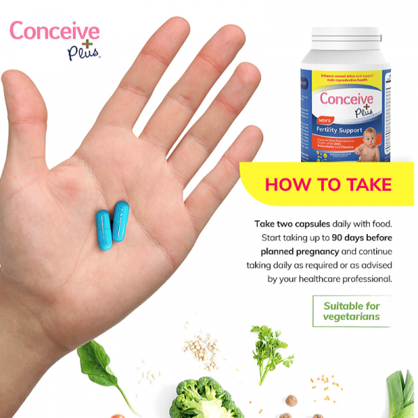 how to take conceive plus fertility support vitamin