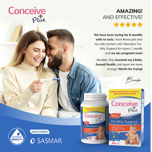 Review of Conceive Plus Men Fertility Support testosterone booster vitamins supplements