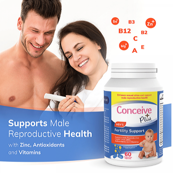 Support male reproductive health zinc antioxidents vitamins