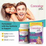 Formulated healthy ovulation conceive plus