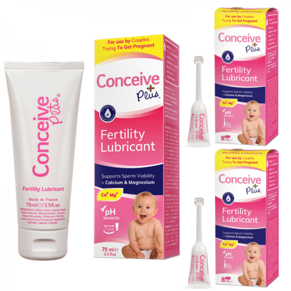 Conceive Plus Fertility lubricant TTC bundle lube + 18 applicators