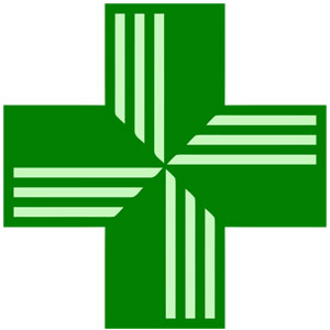 pharmacy green cross logo