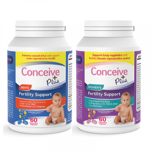 Conceive Plus Men & Women fertility food supplements vitamins for couples getting pregnant