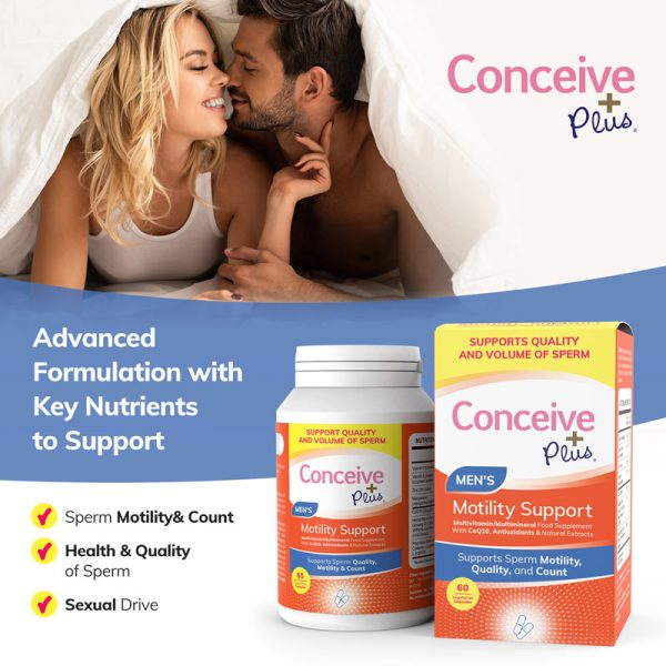 Key nutrients zinc support sperm motility count testosterone by Conceive Plus