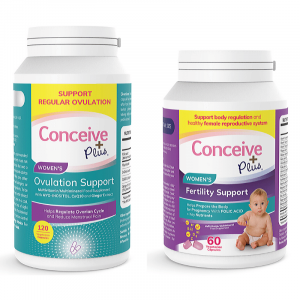 UK Ovulation pills for women with PCOS and fertility capsules bundle