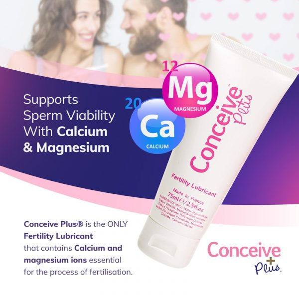 Magnesium calcium fertility tube