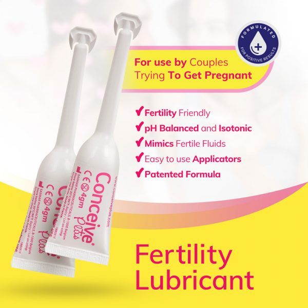 Benefits of using Conceive Plus Fertility Lubricant applicators for getting pregnant